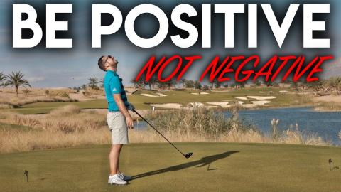 Be POSITIVE not NEGATIVE - Course Management Vlog - Ayla Golf Club