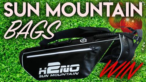 WIN! Sun Mountain H2NO Sunday Bag!! Pete's Christmas Crackers