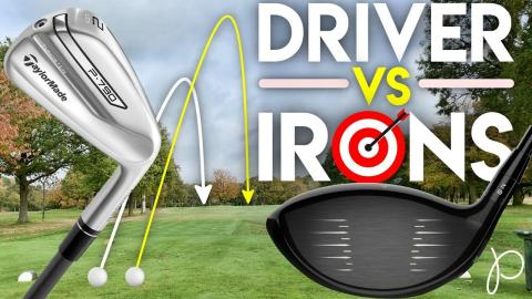 DRIVER vs IRONS! What Matters More? Distance or Accuracy from the tee
