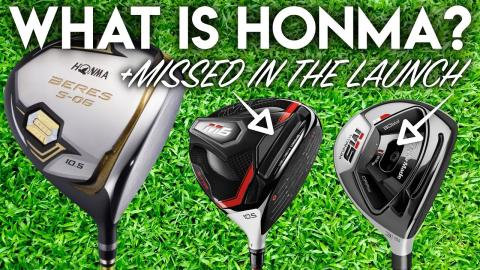What is Honma Golf? Something Missed in the TaylorMade M5 M6 Launch..