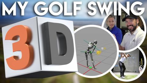 WARNING! My Golf Swing In 3D - Golf Nerds Only