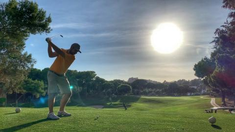 HOW was this course open! Costa Del Sol - Final Day