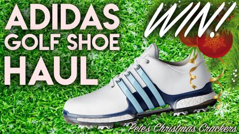 WIN! adidas Golf Shoe Haul!! Pete's Christmas Crackers