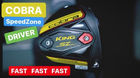 COBRA SPEEDZONE DRIVER Fast Golf Driver With Fast Designs