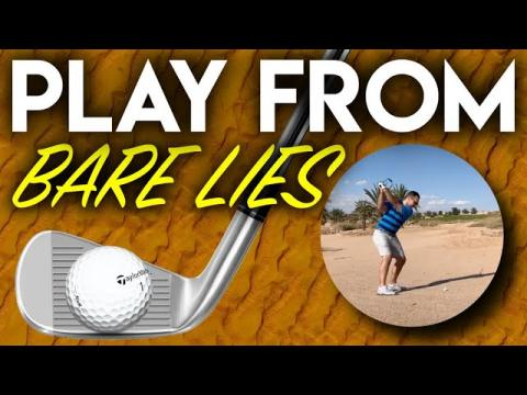 How To Play From A Bare Lie - Course Management Vlog - Ayla Golf Club