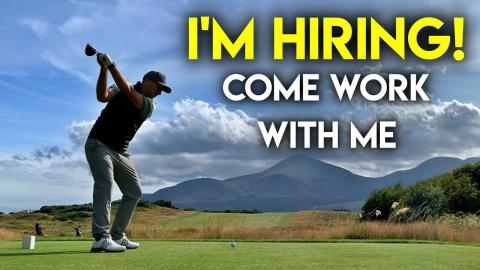 I'm hiring! Two people to work at Peter Finch Golf