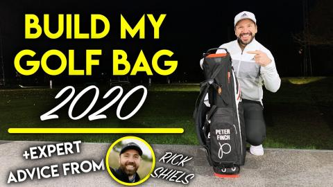 BUILD MY BAG 2020! Which Golf Clubs Will I Be Playing + Rick Shiels with expert advice