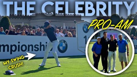 The Celebrity Pro-Am! Playing with my Swing Crush!!