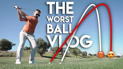 THE most FRUSTRATING yet REWARDING game - Worst Ball Vlog
